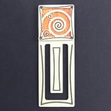 Spiral Engraved Bookmark