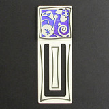 Retro Modern Engraved Bookmark