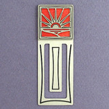 Sunset Engraved Bookmark