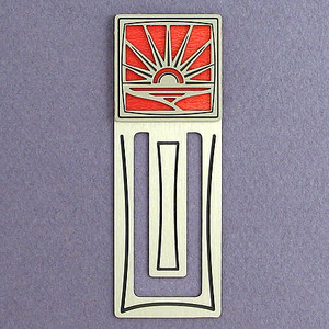Sunset Engraved Bookmark