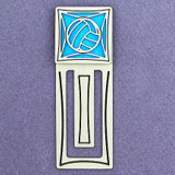 Volleyball Engraved Bookmark