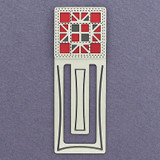 Quilting Engraved Bookmark