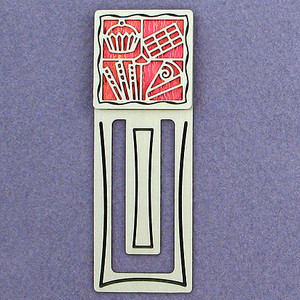 Chocolate Themed Engraved Bookmark