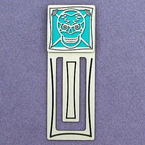 Skull Engraved Bookmark
