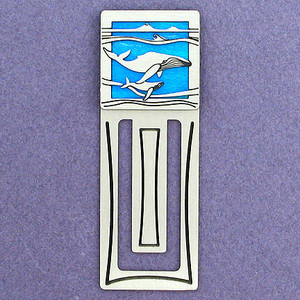 Whale Engraved Bookmark