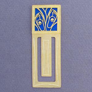 Footprint Engraved Bookmark