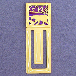 Polar Bear Engraved Bookmark