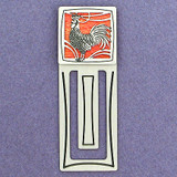 Rooster Engraved Bookmark