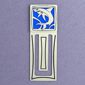 Shark Engraved Bookmark