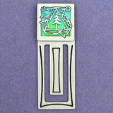 Recycling Symbol Engraved Bookmark