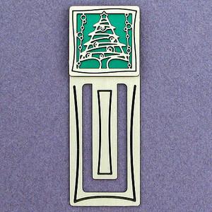 Christmas Tree Engraved Bookmark