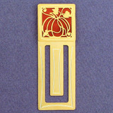 Pumpkin Engraved Bookmark