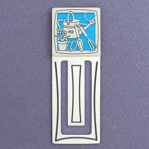 Gardening Tools Engraved Bookmark