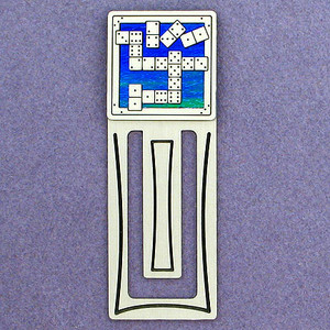 Domino Engraved Bookmarks