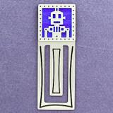 Robot Engraved Bookmark