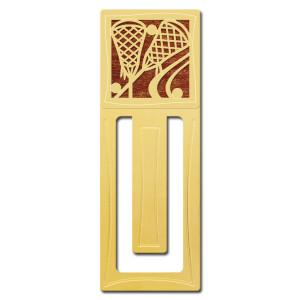 Lacrosse Engraved Bookmark