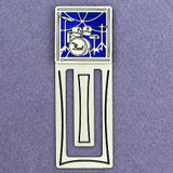 Drummer Engraved Bookmark