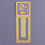 Artist Palette Engraved Bookmark