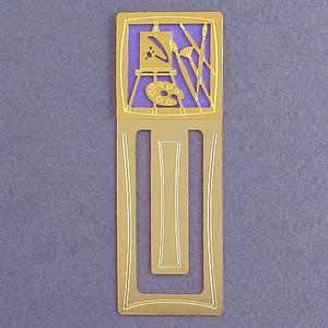 Artist Palette Engraved Bookmark