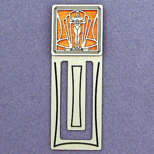 Trophy Statuette Engraved Bookmark