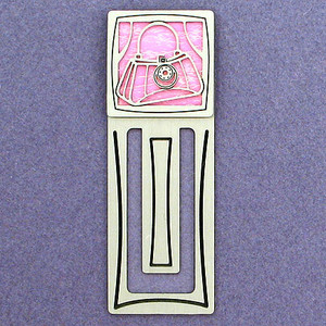 Purse Engraved Bookmark