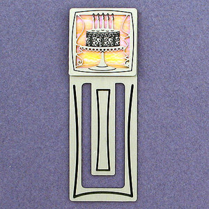 Cake Engraved Bookmark