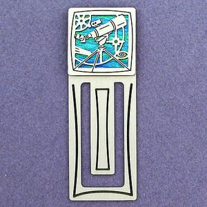 Astronomy Engraved Bookmark