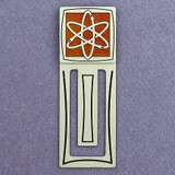 Atomic Engraved Bookmark