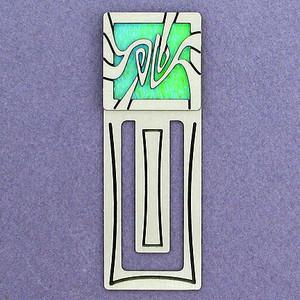 Art Nouveau Engraved Bookmarks