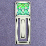 Olympian Rings Engraved Bookmark