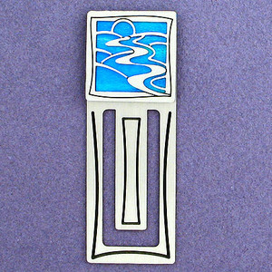 River Engraved Bookmark