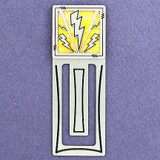 Lightning Bolt Engraved Bookmark