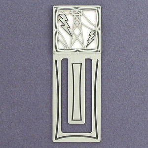 Electrician Engraved Bookmark
