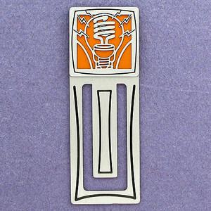 Light Bulb Engraved Bookmark