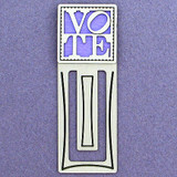 Voting Engraved Bookmark