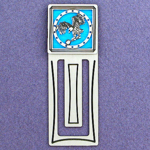 Coin Engraved Bookmark