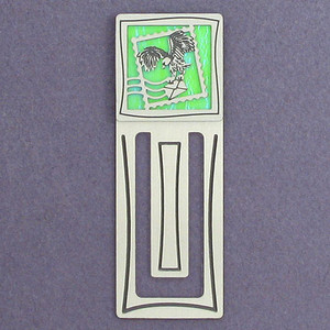 Stamp Engraved Bookmark