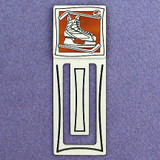 Hockey Skate Engraved Bookmark