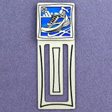 Running Shoe Engraved Bookmark