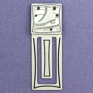 Figure Skating Engraved Bookmark