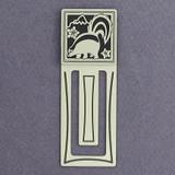 Skunk Engraved Bookmark