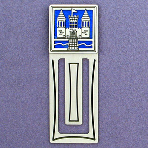 Castle Engraved Bookmark