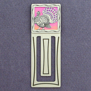 Turkey Engraved Bookmarks