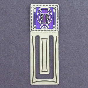 Vase Engraved Bookmark