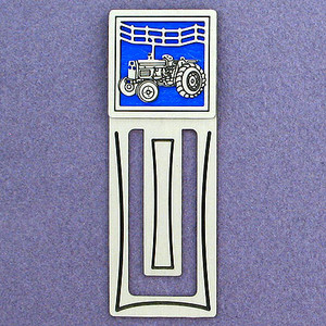 Farm Tractor Engraved Bookmark