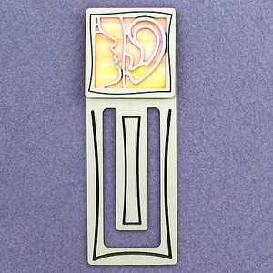 Audiology Engraved Bookmark
