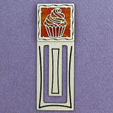 Cupcake Engraved Bookmark
