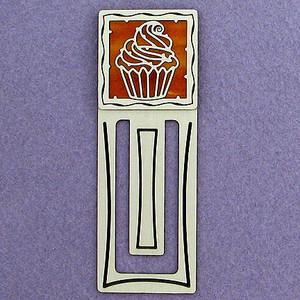 Cupcake Engraved Bookmark