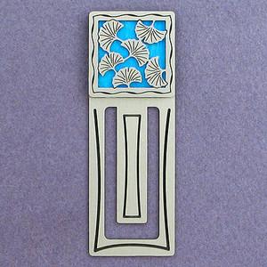 Ginkgo Engraved Bookmark