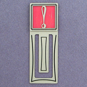 Exclamation Point Bookmark with Punctuation